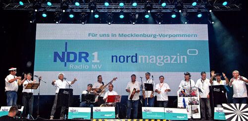 A la télévision allemande Rostock 2014