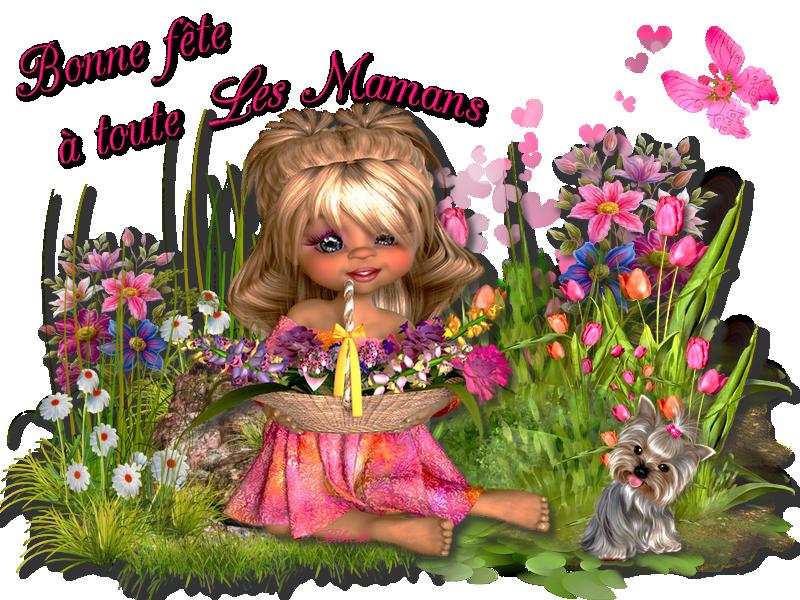 Bonne fête à toute les Mamans