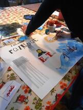 Initiation au Pop-Up et Calligraphie