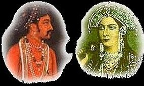 moghol chah djahan et epouse