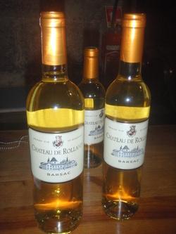 CHATEAU DE ROLLAND (Sauterne)