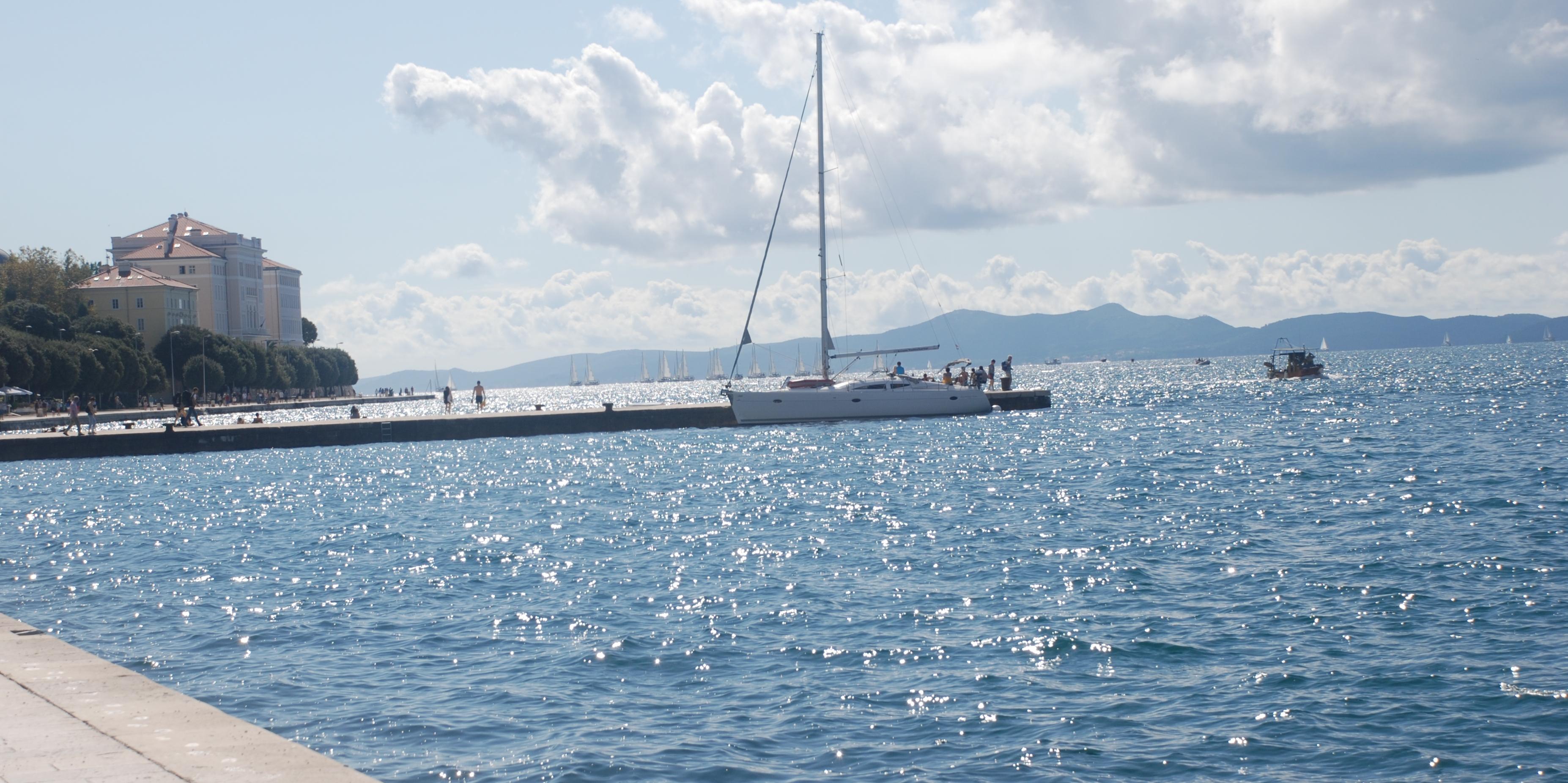 promenade bateau zadar