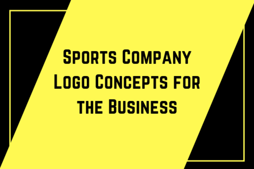 Sports Company Logo Concepts for the Business