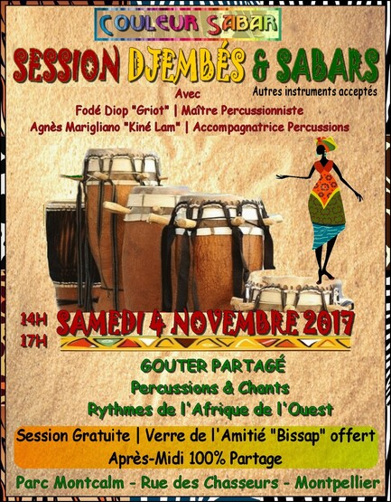 ★ Session Percussions | Vacances Toussaint