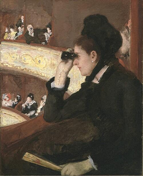 Cassatt /2:   1878:l'enfant et sa gouvernante