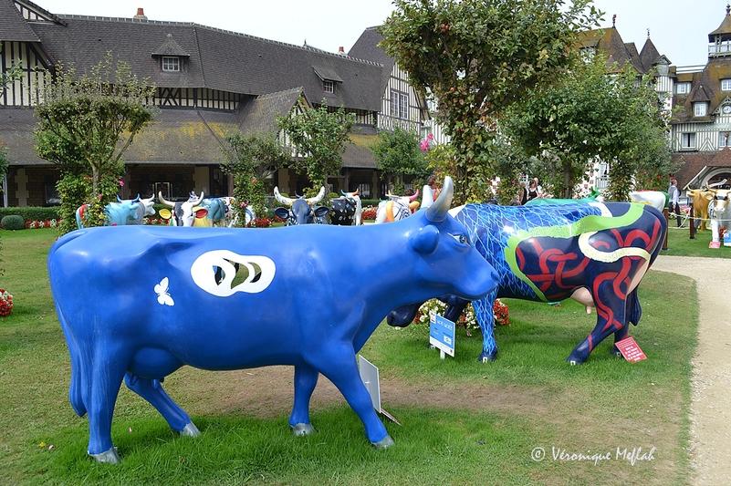 La Cow Parade à Deauville