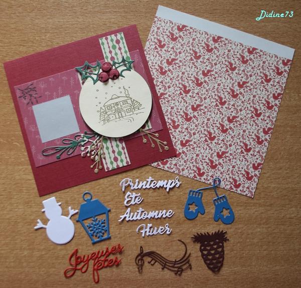 Ronde de cartes de Noël -5