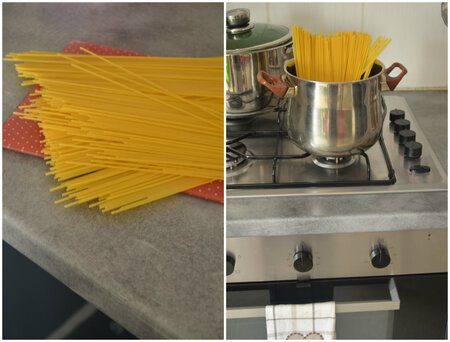 Spaguetti au Thon frais