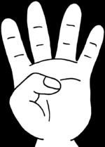Dessin - Mains 2 et 4 alternatives