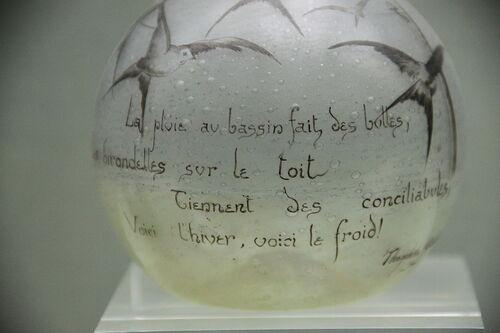 Gauthier, le poète impeccable...
