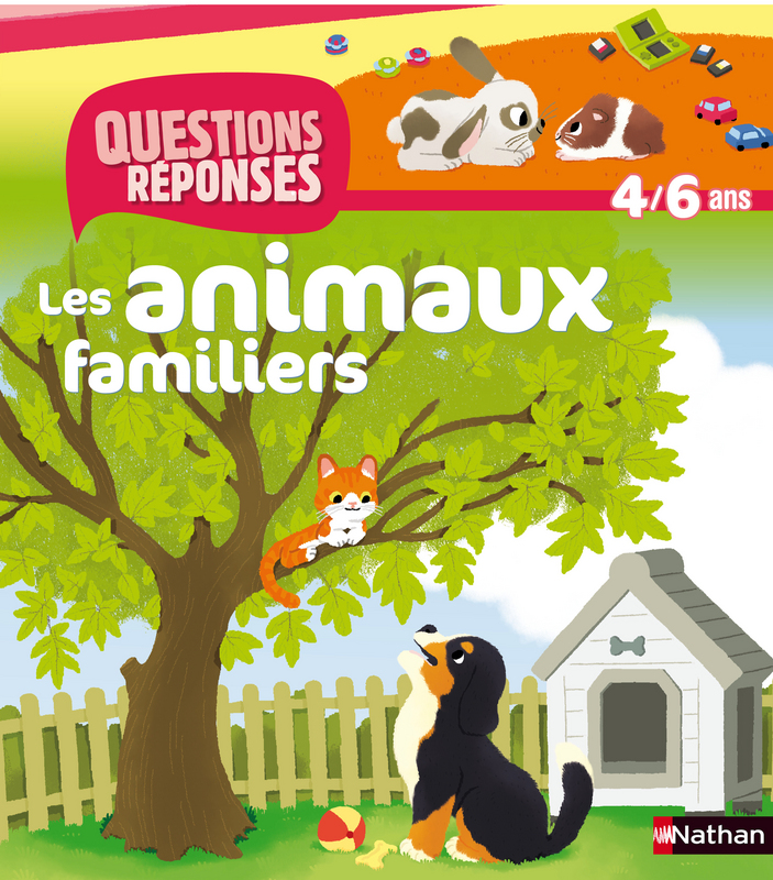 """""""Les animaux familiers"""" Nathan"""