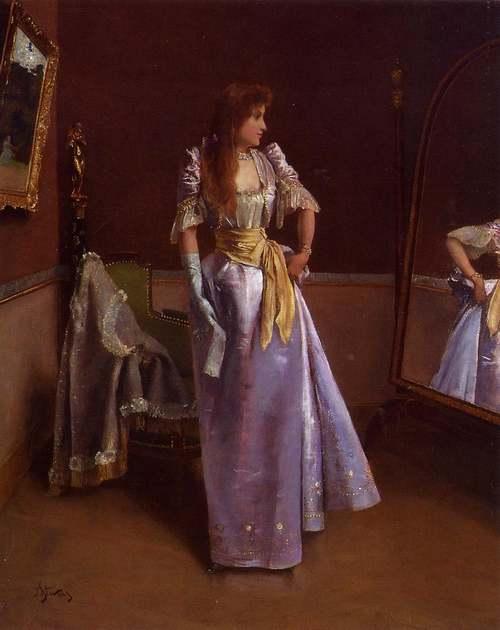 Peintures d' : Alfred STEVENS