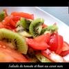 salade tomate kiwi carvi noir