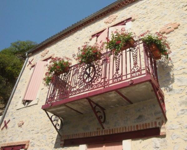 Balcon à Luzech
