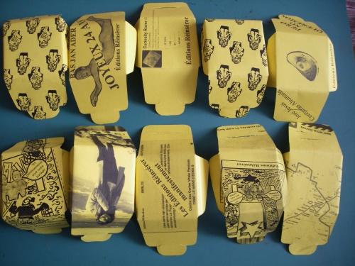 L'œuvre d'art à l'époque de sa reproduction mécanisée  — Détournement du texte de Walter Benjamin à usage des nouvelles générations — A ma nièce jetée-là — A la tienne l'ami — Dépassement d'un mythe m