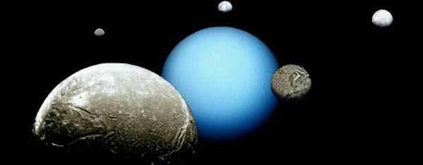 Uranus et ses satellites