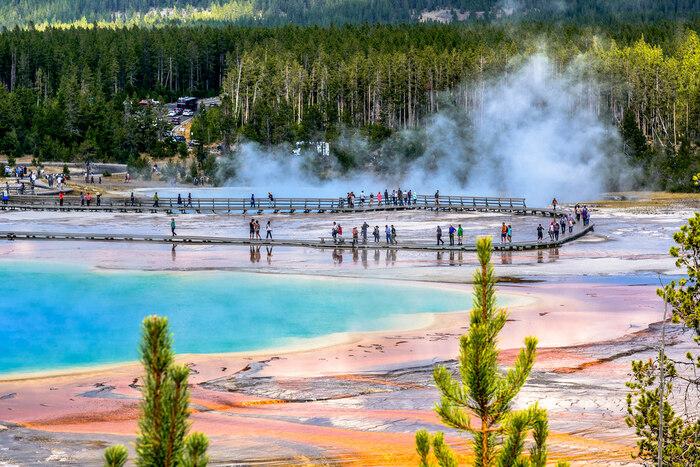 Balade au Parc National de Yellowstone aux U.S.A