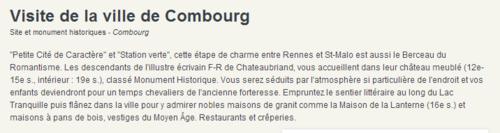 """"""""""" Ville de COMBOURG(35)-Suite dela visite BRETONNE."""""""""""