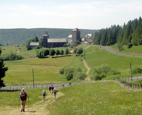L' Aubrac : de Nasbinals à St Chély d' Aubrac