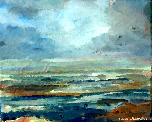 Reflets de la mer