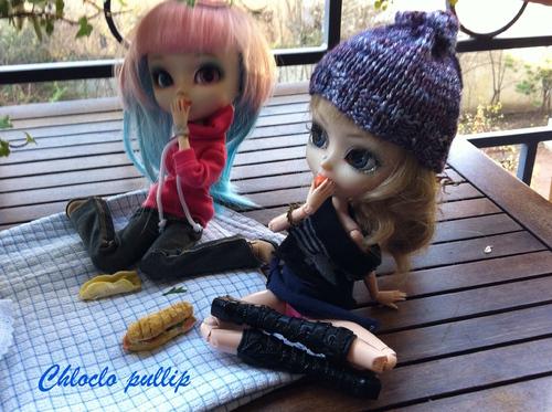 Séance photo n°2 : Sur le balcon d'une amie avec sa pullip Léa
