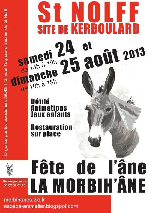 Fête de l'âne 2013