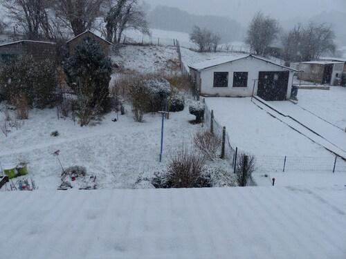 La neige est bien là!