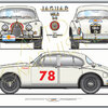 Jaguar Mk2 3l8 Tour De France