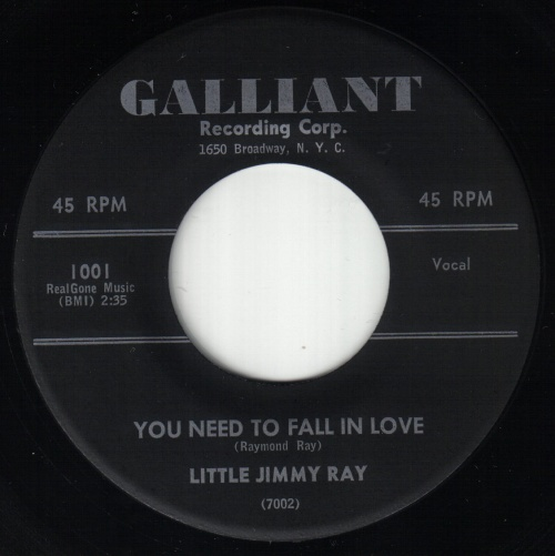 LITTLE JIMMY RAY - JAMES RAY
