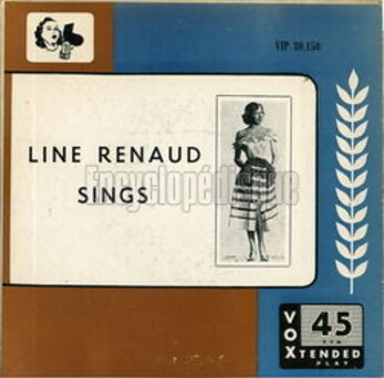 Line Renaud, 45t  1953