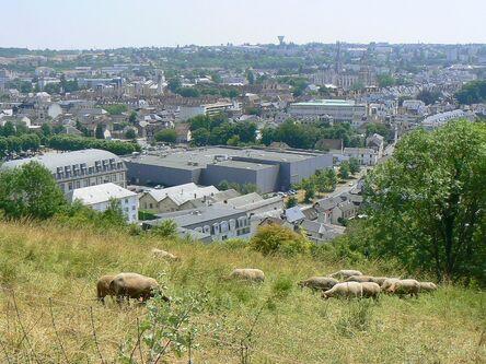 Le circuit du panorama d'Evreux.
