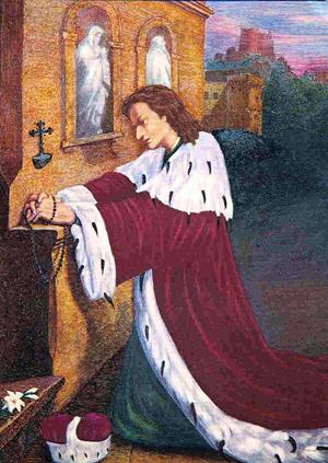 Saint Casimir. Fils de Casimir IV de Pologne († 1484)