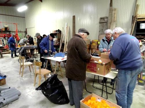 Derniers préparatifs pour la Saint Vincent Tournante des 28 et 29 janvier 2013