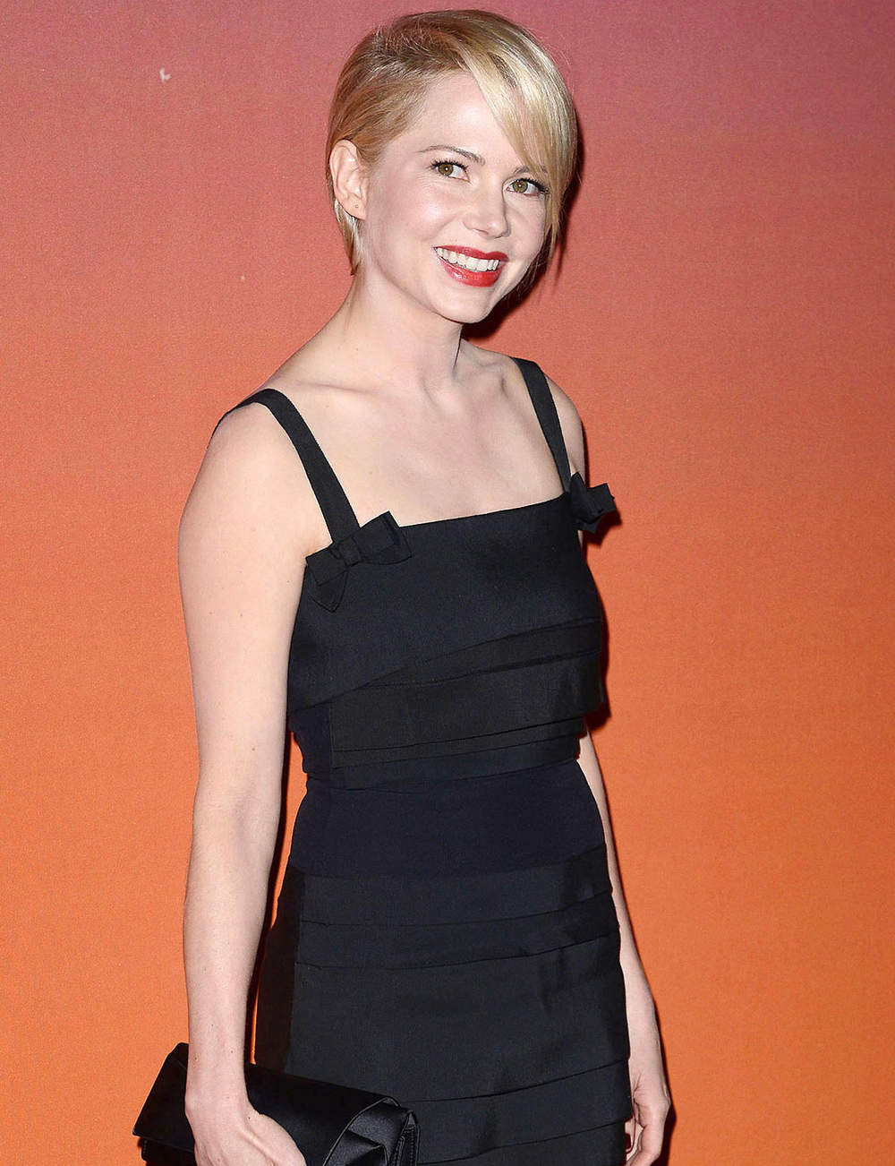 La frange large de Michelle Williams