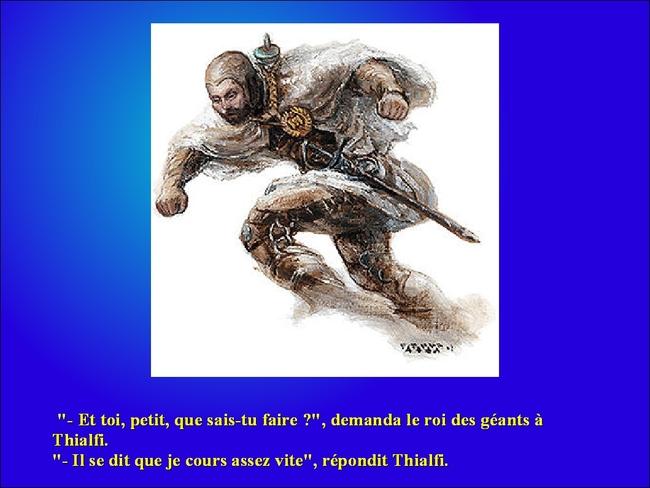 Thor chez Utgardaloki