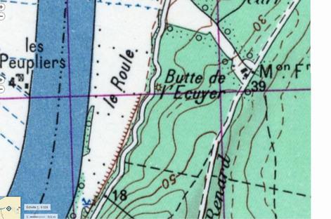 LES REMPARTS DE LA BUTTE DE L'ECUYER (Seine-Maritime)