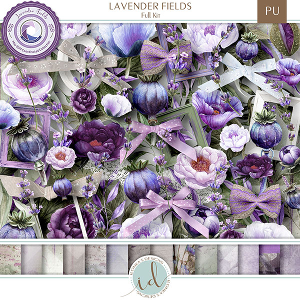 Lavender Fields - release May 10th 2019 at Digital Scrapbooking Studio Id_lav10