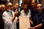 1/4 de Finale Retour WA Casablanca-(Maroc) MCA