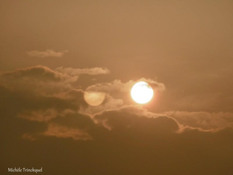 Le ciel au matin du 23 mars....