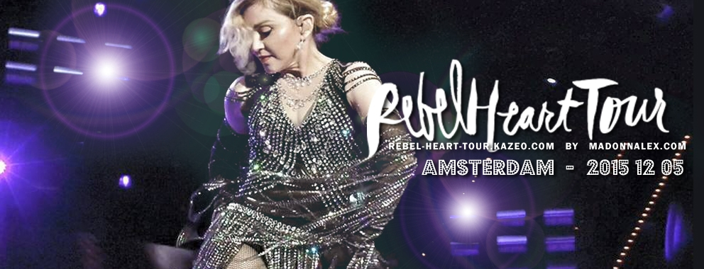 Madonna Rebel Heart Tour Amsterdam 1