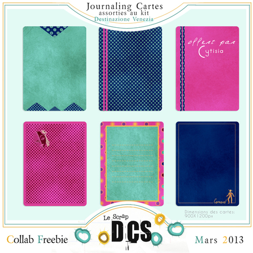 DCS : CARTES JOURNALING