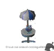 table de plage - animal crossing DS