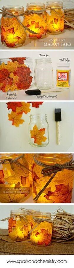 3 D.I.Y pour l'automne !