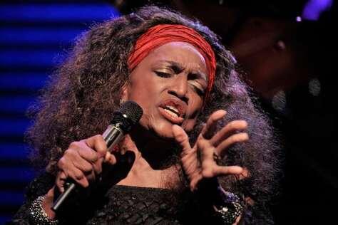 Jessye Norman, au festival de jazz de Montreux (Suisse), en juillet 2010.