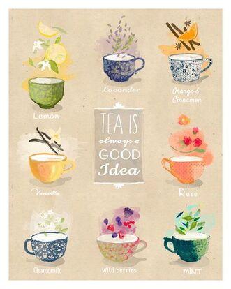 [Recettes] Le thé à la menthe ♥
