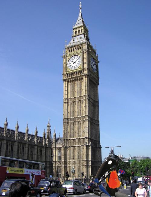Ptit loup est à Londres !