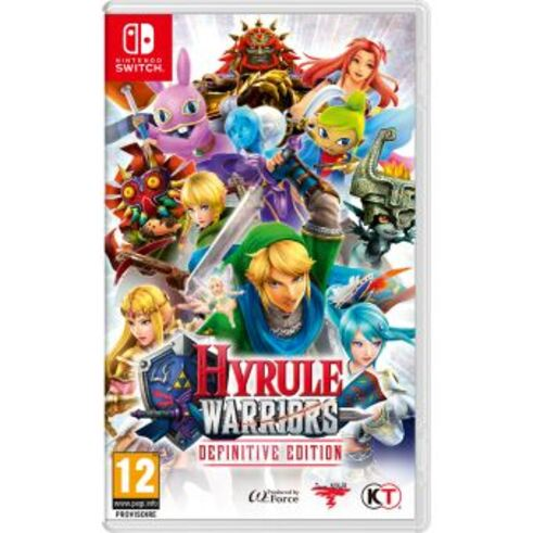 hyrule warrios sur switch