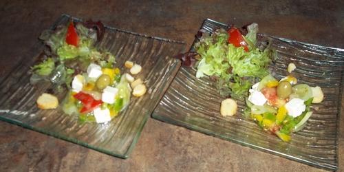 La salade grecque d'Olanie