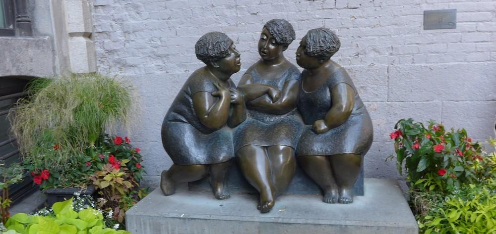 Montréal : sculptures dans la ville...