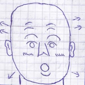 La technique du dessin - Les jeux de physionomie